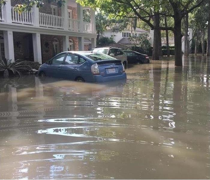 Flooded Cars and Homes